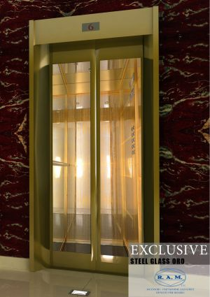 EXCLUSIVE STEEL GLASS ORO